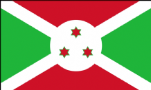 BURUNDI - HAND WAVING FLAG (MEDIUM)
